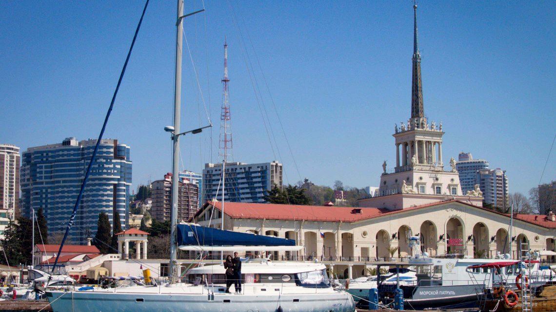 В Сочи центральный порт