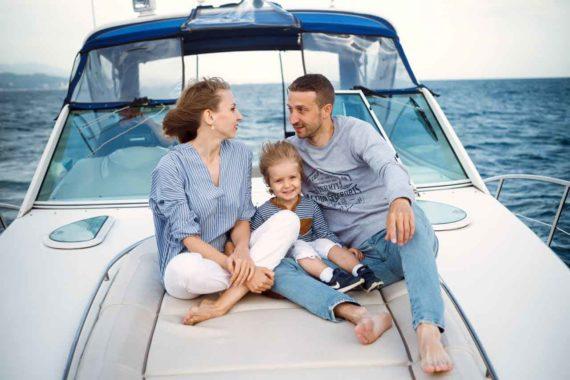 Отдых с семьей на катерах