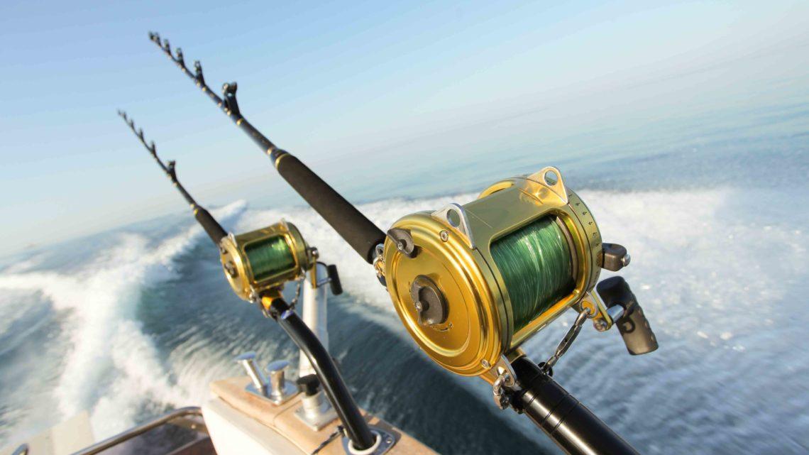 Снасти для ловли рыбы на катере